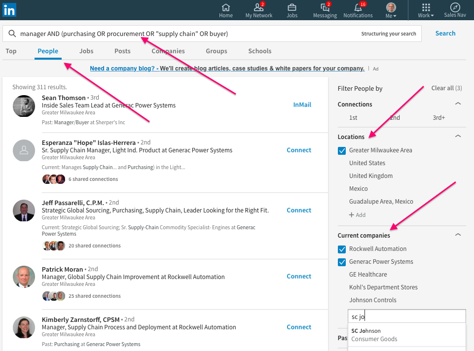 How to do Advanced People Search on the New LinkedIn - Wayne