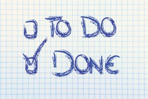 paper with To Do or Done multiple choice