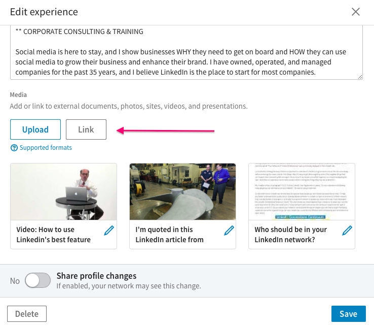 Here is a Really Easy Way to Spruce Up Your LinkedIn Profile