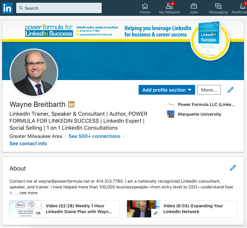 All You Need to Know About the New LinkedIn Profile ...